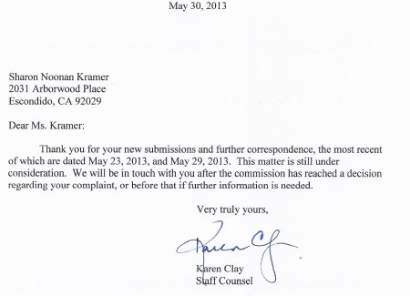13.05.30 letter from CJP No 2